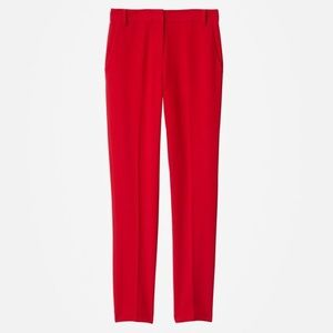 Abercrombie and Fitch red khaki jeans